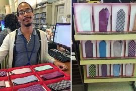 Unii americani merg la biblioteca pentru a imprumuta… cravate!