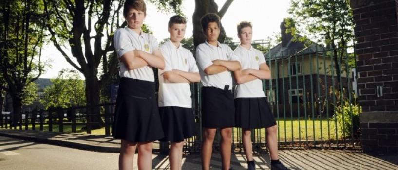 Baietii vor avea voie sa poarte fuste in scolile din Marea Britanie!