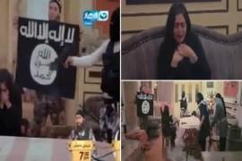 Un show egiptean de farse i-a inscenat unei actrite celebre rapirea de catre teroristi ISIS!