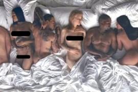 De ce sunt atatea funduri goale celebre in noul videoclip al lui Kanye West? Iata explicatia!
