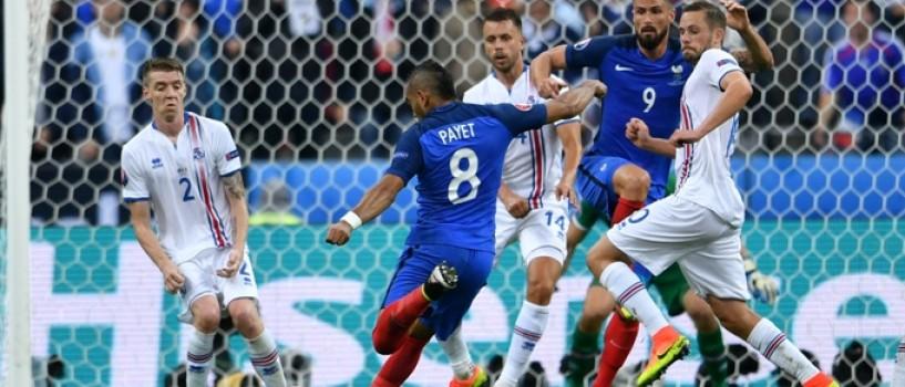 Franta a fost necrutatoare cu Islanda in sferturi!