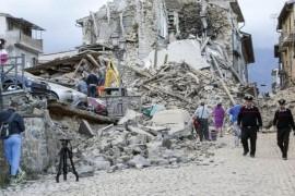 De ce sunt atat de multe cutremure in Italia?