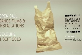 Au inceput inscrierile la Bucharest International Dance Film Festival!