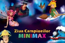 Caravana Minimax aduce bucurie copiilor din sase orase ale tarii!