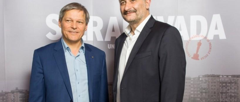 Premierul Dacian Ciolos a fost la premiera oficiala a filmului SIERANEVADA