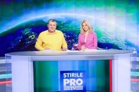 De luni, Stirile Pro TV incep la ora 06:00 dimineata