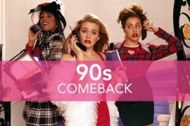 Stilul anilor '90 din nou la moda! Invata sa-l copiezi! (VIDEO)