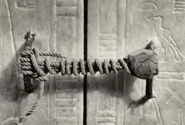 Sigiliu mormant Tutankhamen