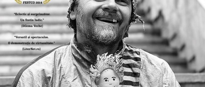 13 personaje, un singur actor: Florin Piersic Jr. prezinta FREAK SHOW la Teatrul National!