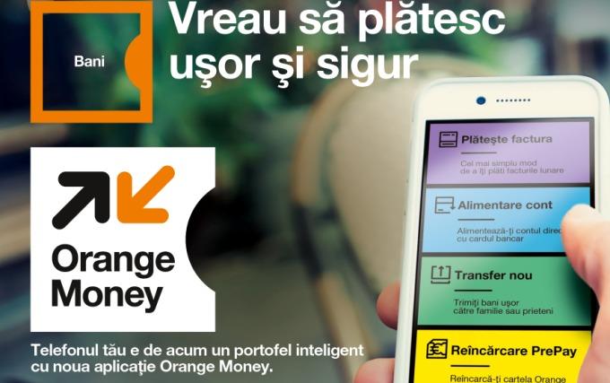 Orange Romania lanseaza Orange Money - transfer de bani si plati cu telefonul mobil!