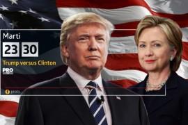 Pro TV difuzeaza in ziua alegerilor prezidentiale din SUA documentarul Trump vs. Clinton!