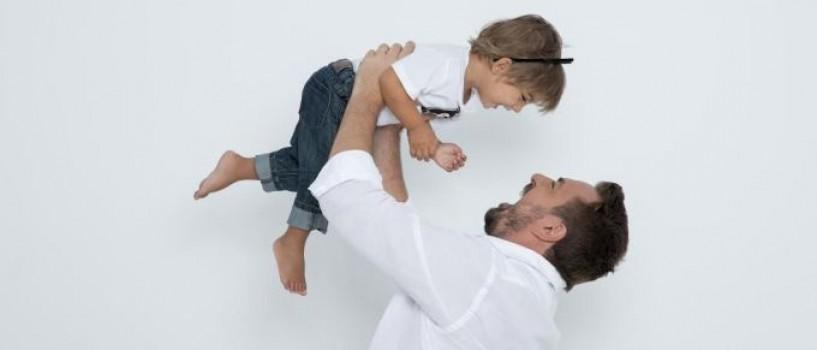 Horia Brenciu si-a prezentat fiul in prima editie a emisiunii Uniplay