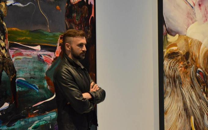 O lucrare a pictorului Adrian Ghenie participa la prima licitatie organizata de Goldart in 2017!