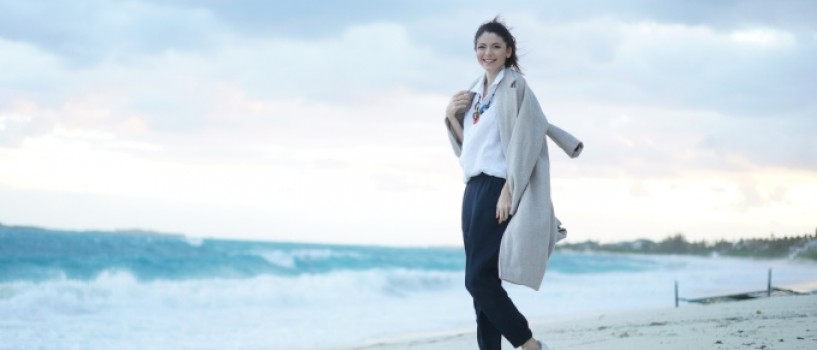 Anca Lungu – vacanta in Bahamas!
