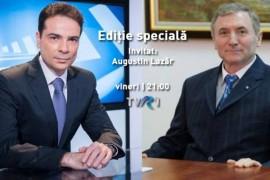 """Primul interviu al Procurorului General al Romaniei, intr-o """"Editie speciala"""" la TVR 1"""