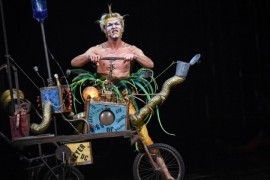 Varekai, un spectacol Cirque du Soleil cu o logistica impresionanta!