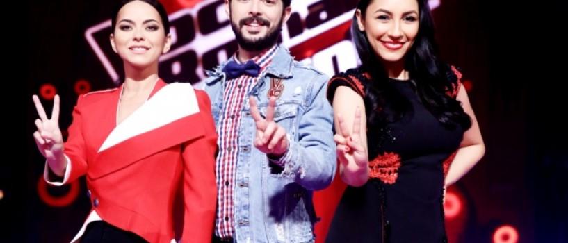 Andra, Inna si Marius Moga aleg Vocea Romaniei Junior, din 26 februarie, la Pro TV!