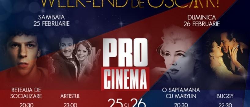 Pro Cinema te pregateste de Gala Premiilor Oscar cu… filme de Oscar!