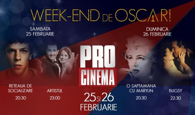 Pro Cinema te pregateste de Gala Premiilor Oscar cu... filme de Oscar!