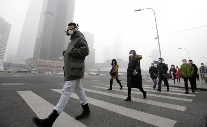 Smogul din Europa, mai toxic decat cel din China