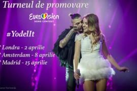 """Ilinca si Alex Florea promoveaza """"Yodel It"""" la Londra, Amsterdam si Madrid!"""