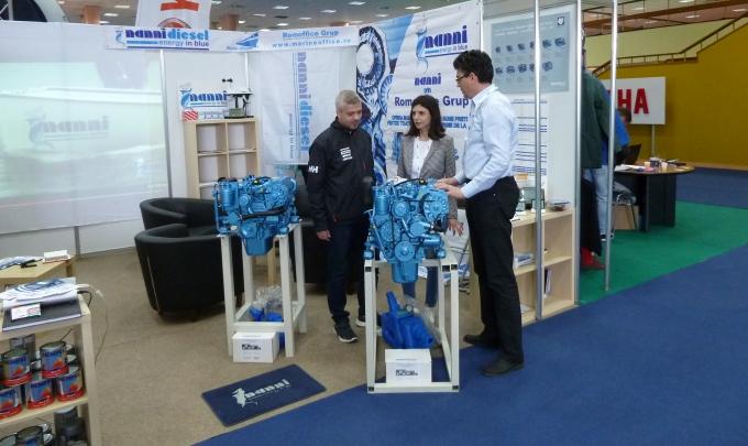 Romoffice Grup vine cu promotii tentante la motoarele marine Nanni Diesel pe durata Salonului Nautic International Bucuresti 2017