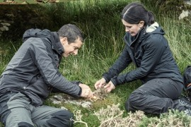 Bear Grylls testeaza limitele celebritatilor intr-un nou sezon Vedete in salbaticie!