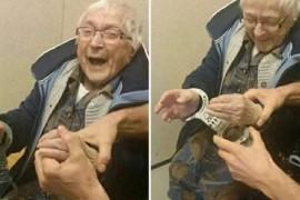 O bunica de 99 de ani a fost arestata de politie pentru ca asta era ultima ei dorinta!