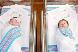 O coincidenta simpatica: doi bebelusi vecini de salon au fost numiti intamplator Romeo si Julieta!