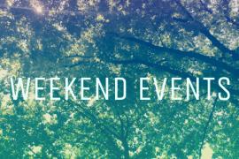 Evenimente de weekend numai bune sa te faca sa uiti de ploaie!