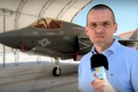 O echipa TVR a filmat in SUA cel mai scump avion al momentului – F35!