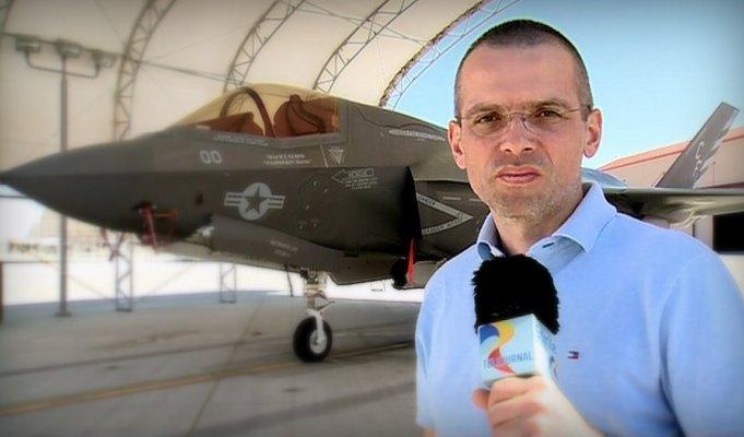 O echipa TVR a filmat in SUA cel mai scump avion al momentului - F35!