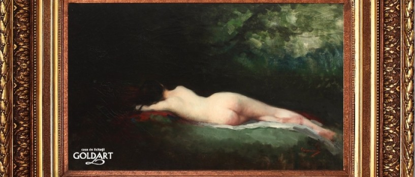 Nimfa dormind de Nicolae Grigorescu – protagonista unei licitatii eveniment!