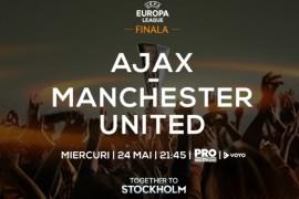 Finala UEFA Europa League, in direct la Pro TV, pe 24 mai, de la 21:30!