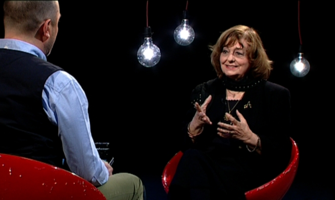 Ana Blandiana invitata lui Catalin Stefanescu la Garantat 100%!