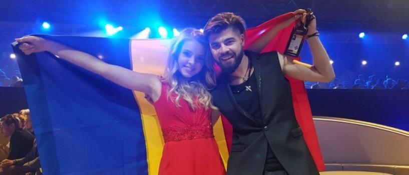 Ilinca si Alex Florea s-au calificat in Finala Eurovision