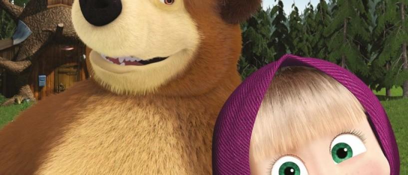 Expozitia interactiva Masha si Ursul se deschide la Mega Mall!