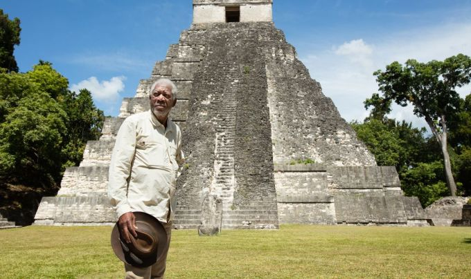Seria Povestea lui Dumnezeu - relatata de Morgan Freeman difuzata la TVR!