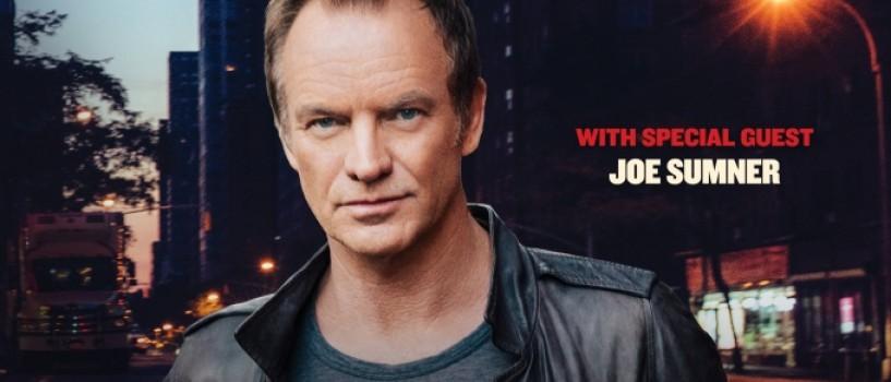Sting concerteaza in octombrie la Cluj Napoca!