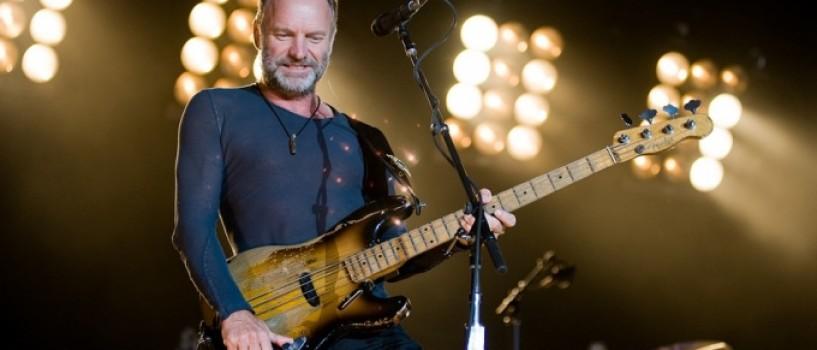 S-au pus in vanzare biletele la concertul Sting de la Cluj Napoca!