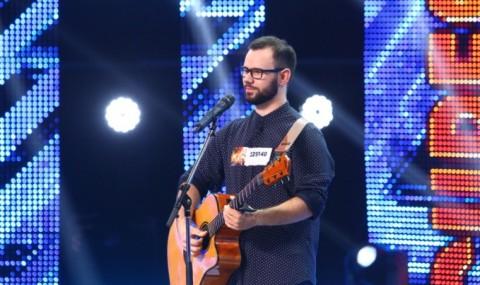 Cu mainile arse in incendiul din Colectiv, Radu Mitrea isi testeaza talentul la X Factor!