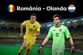 Meciul Romania-Olanda se vede azi la Pro TV!