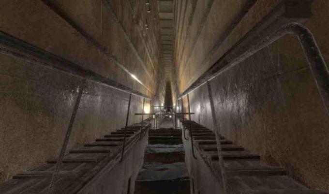Piramida lui Keops nu si-a epuizat misterele. Un mare vid este ascuns in interiorul ei!