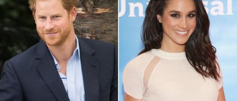 Printul Harry si Meghan Markle s-au logodit!