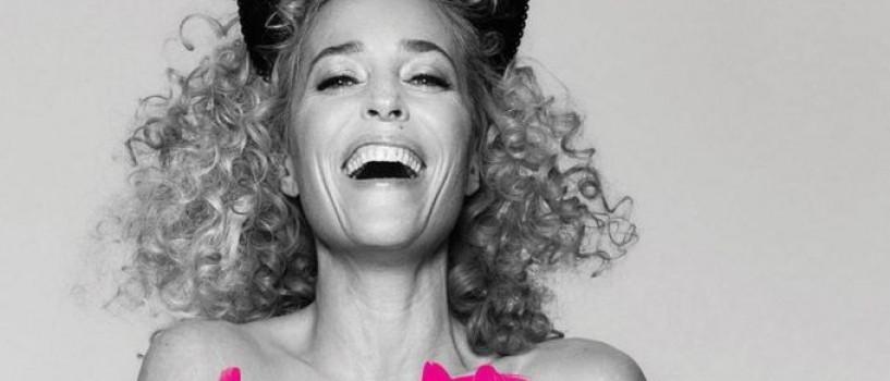 Gillian Anderson a pozat nud pentru o cauza nobila!