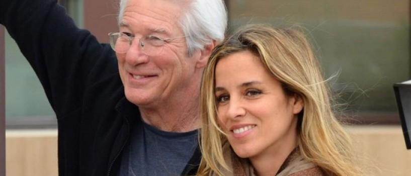 Richard Gere s-a casatorit in secret cu iubita lui cu 33 de ani mai tanara!