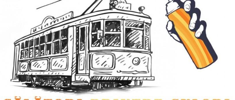 Arta urbana ia tramvaiul in Capitala