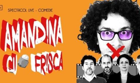 Teatru la Cinema va invita sambata la o 'Amandina cu frisca' fara zahar